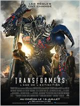 FILM CINEMA TRANSFORMERS L'AGE DE L'EXTINCTION