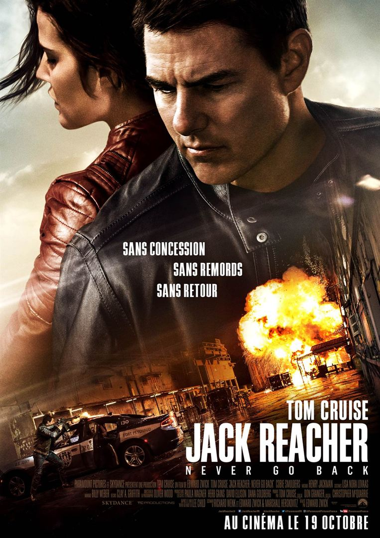 fFILM JACK REACHER : NEVER GO BACK