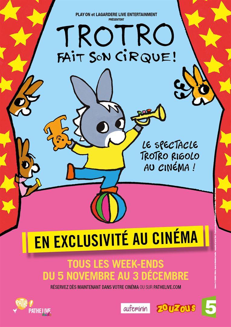 FILM CINEMA TROTRO FAIT SON CIRQUE